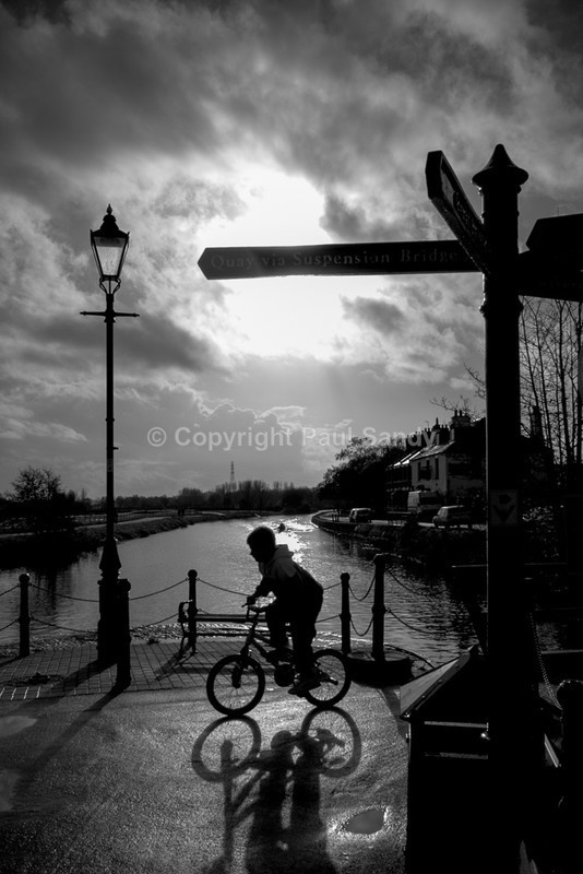 Sunday morning bike ride, Exeter canalside - Featured Images