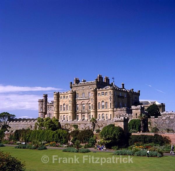 Culzean castle, Ayrshire. - Scotlands Castles
