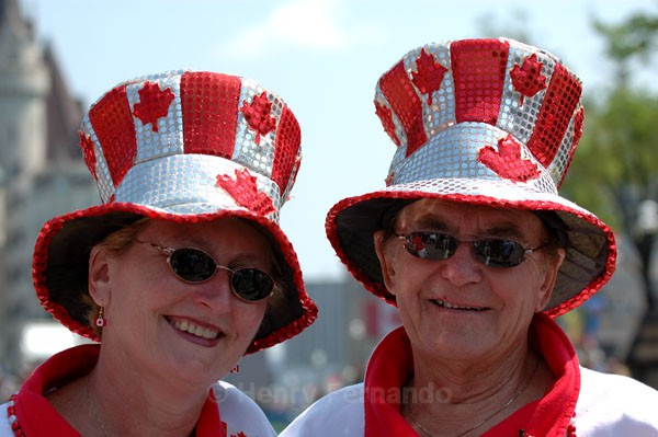 Canada Day - Couple - Summer