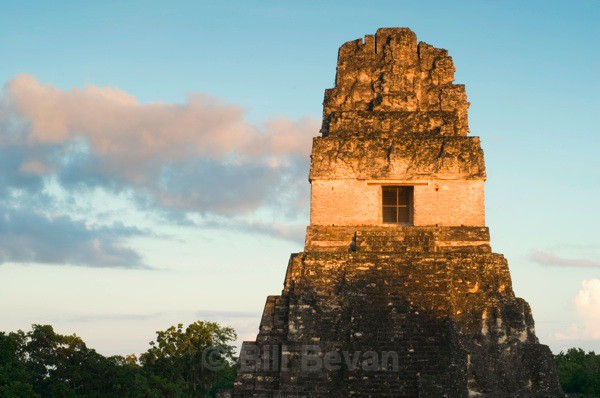 Temple One Sunset - Tikal