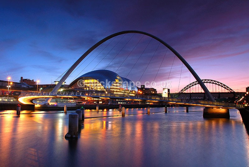 Cityscape from the Newcastle Quayside | North East Photography