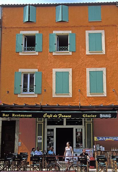 riez cafe - Provence