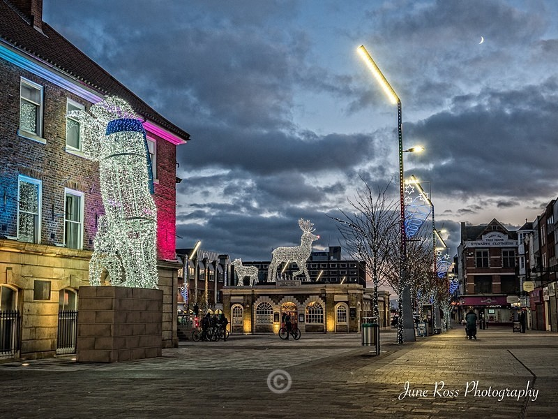 Christmas in Stockton - North-East England