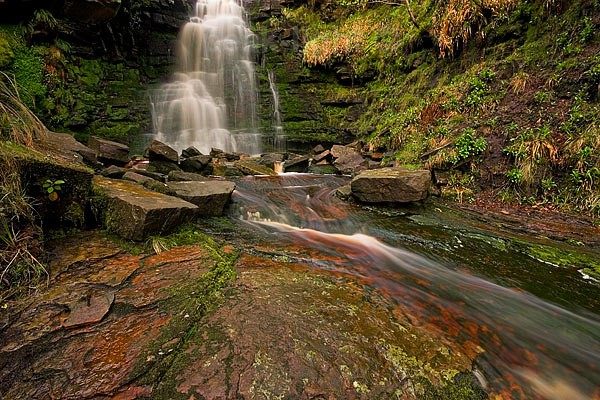 Black Clough Falls - Peak District