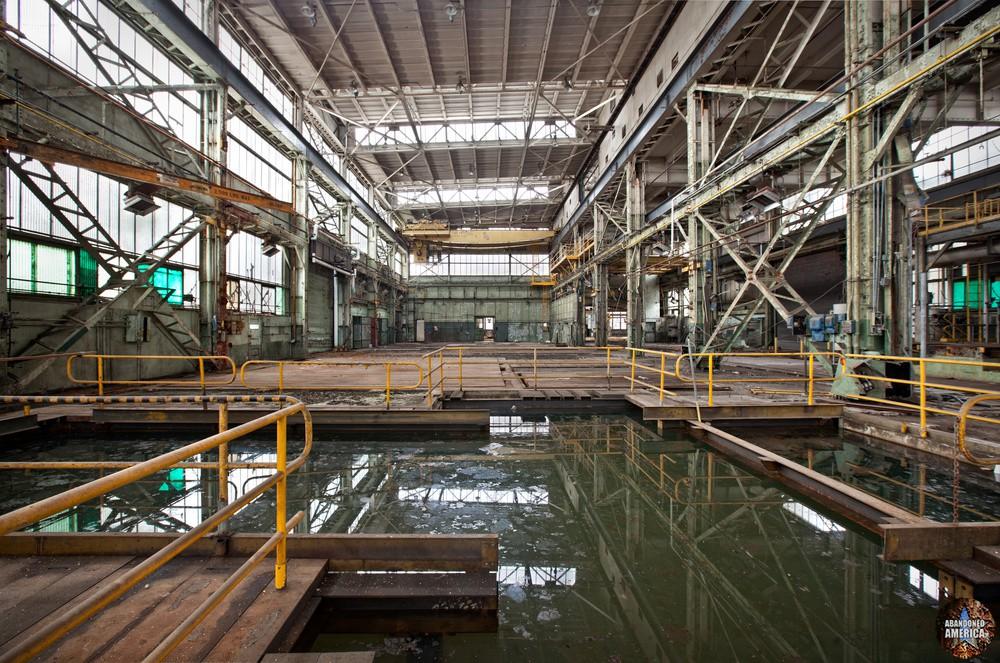 Philadelphia Naval Shipyard | Toxic Pools - Philadelphia Naval Shipyard