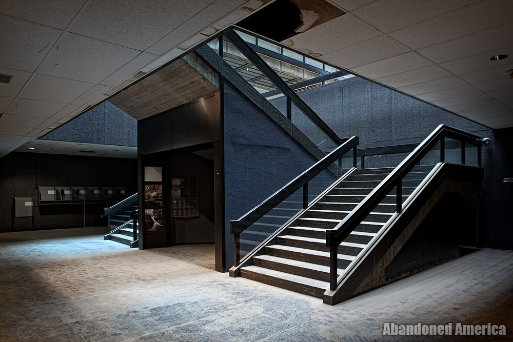 Bell Labs (Holmdel, NJ) | Basement Stairwell - Bell Labs
