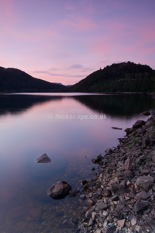 Thirlmere Pink - Thirlmere Reservoir - Lake District - Lake District National Park
