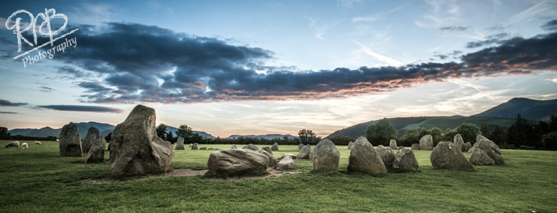 Castlerigg Stone Circle - Panoramic Images
