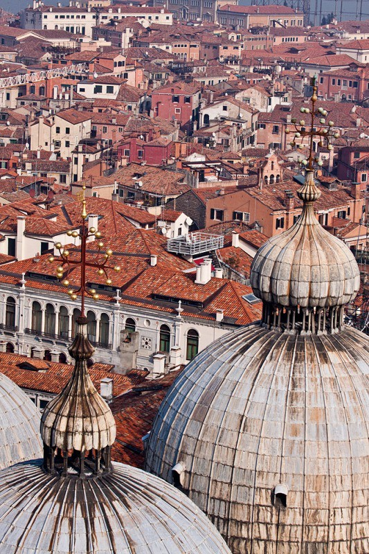 Venetian rooftops - Venice