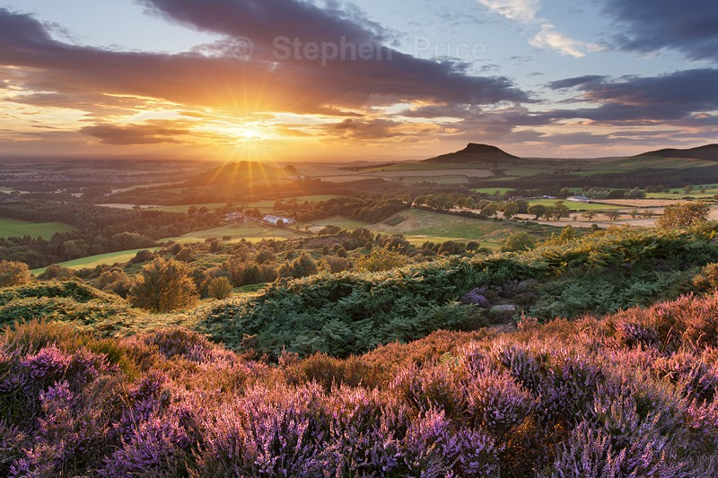 Roseberry Topping Sunset | North Yorkshire Photography