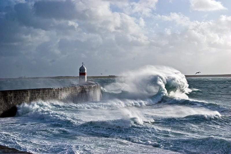 Castletown breakwater - Sea of Man