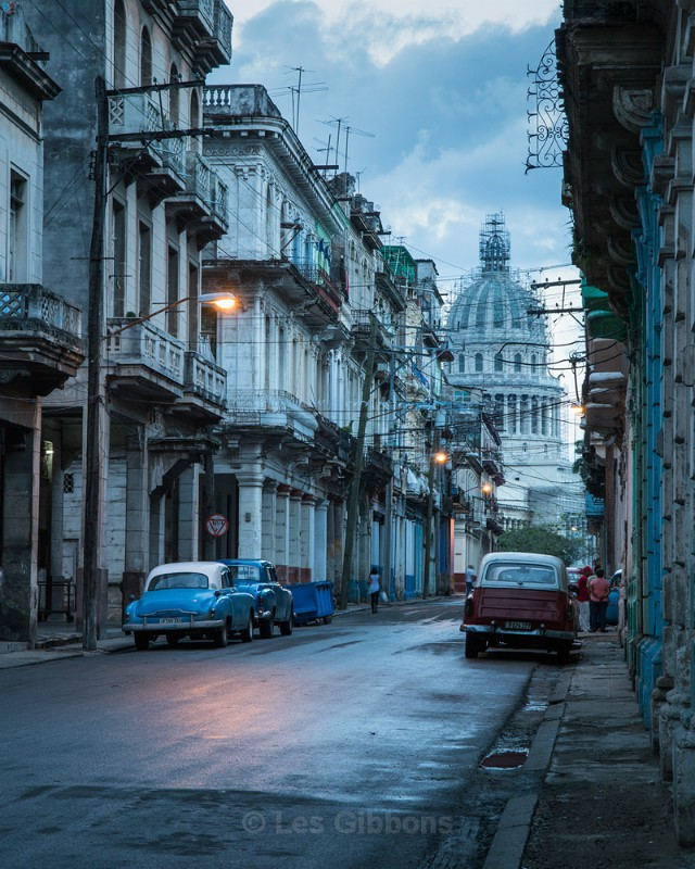 Capitol building sunrise - Cuba