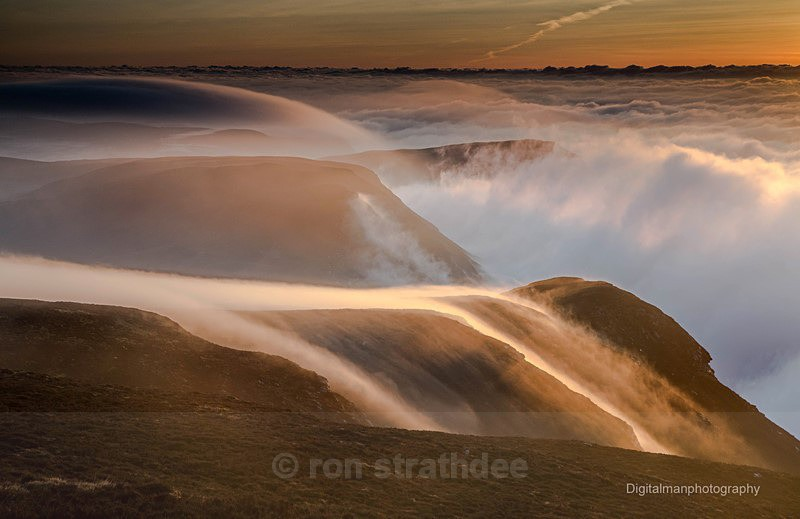 Fog rolls over the Carnanes - Latest additions