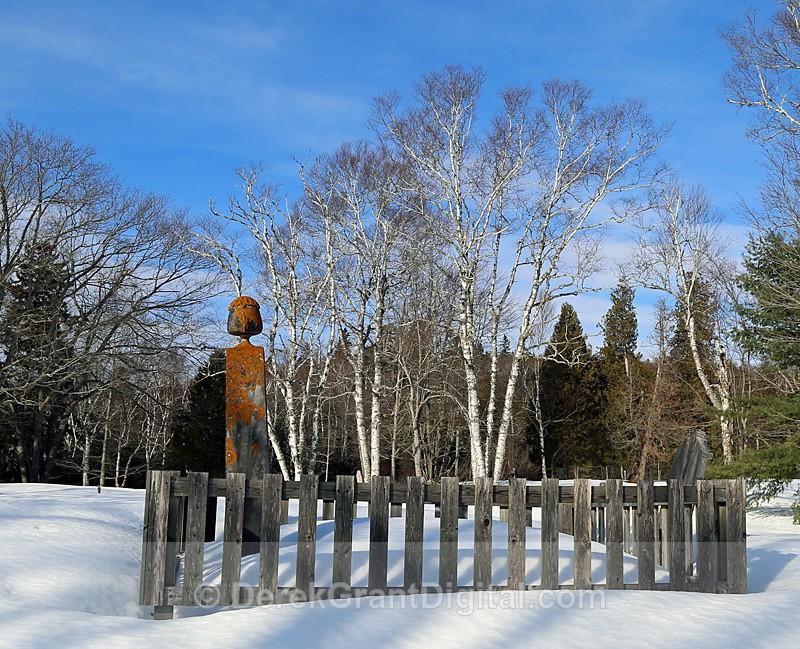 Hardings Point Loyalist Cemetery New Brunswick, Canada - Churches of New Brunswick