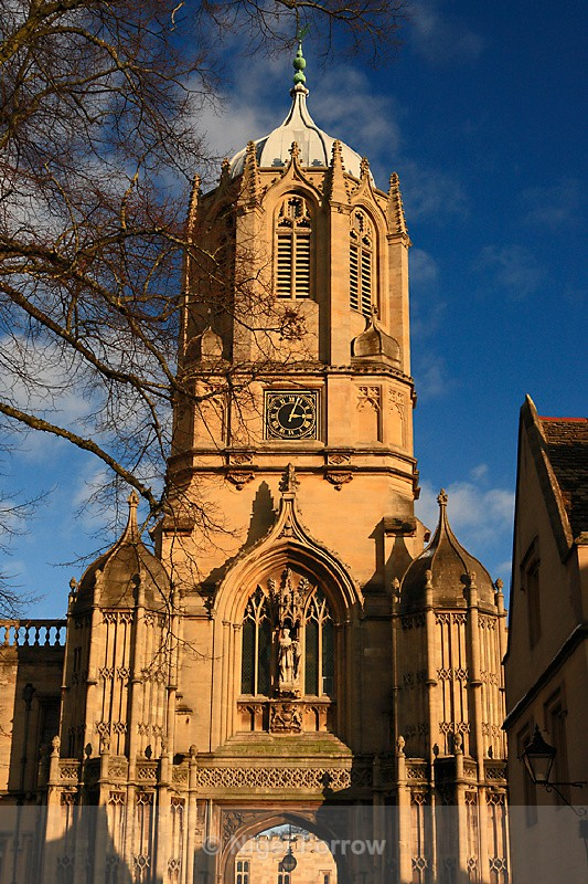 Tom Tower, Christ Church College - Oxfordshire, England