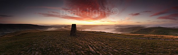 Mam Tor Mists - Panoramics