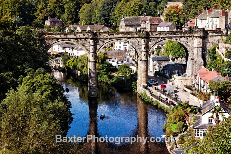 Knaresborough In Summer - Views Around Harrogate: