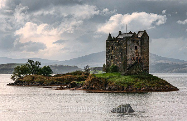 Castle Stalker. - Places of Interest