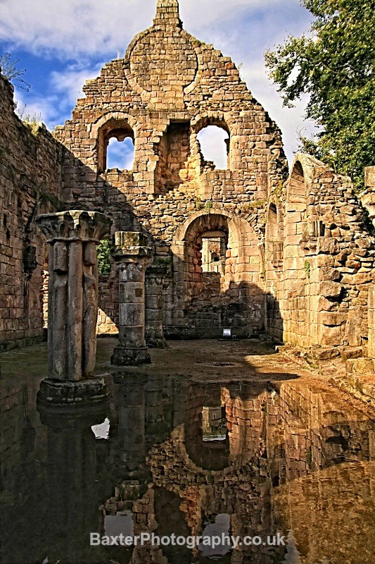 Ruins And Reflections (IV) (Replete) - Fountains Abbey