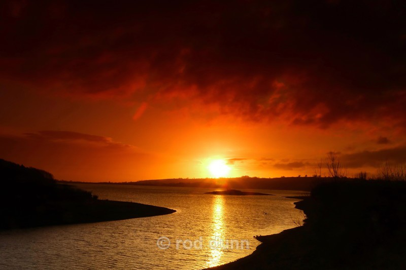 Carsington Water sunset - New Images