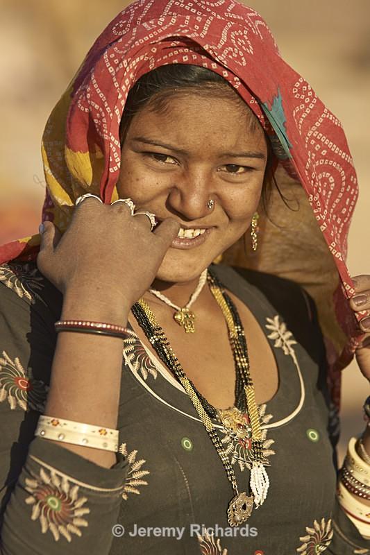 Bishnoi Woman - India
