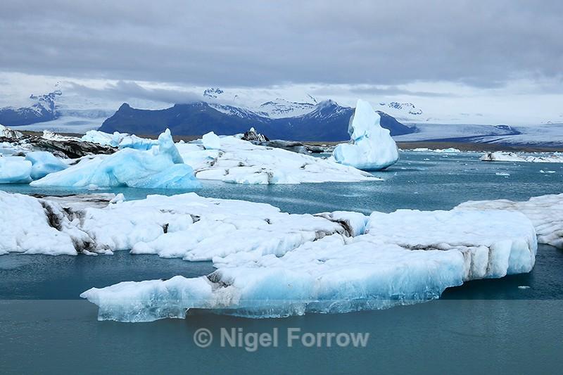 Glacial Lagoon at Jokulsarlon, Iceland - Iceland