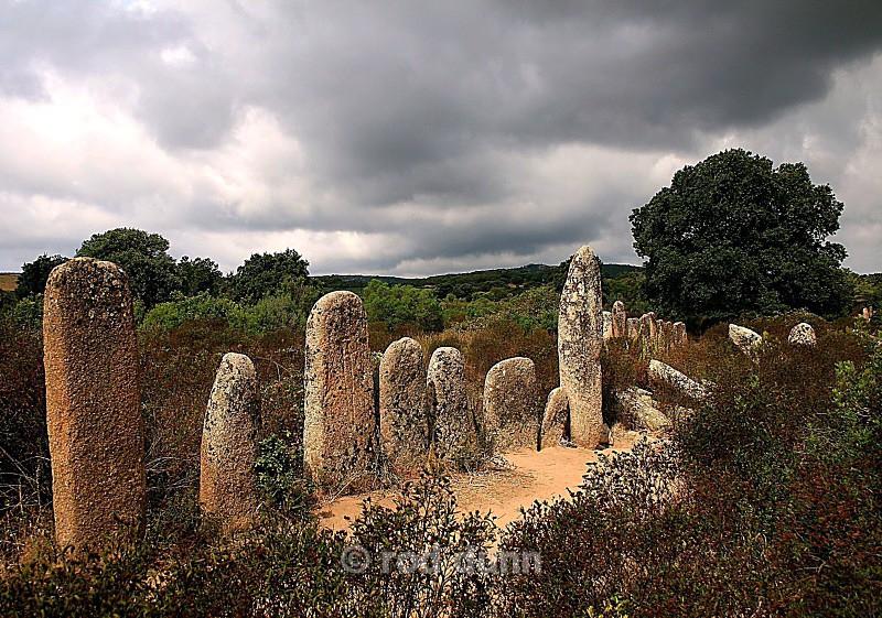 Alignement Pagliaju - Corsica