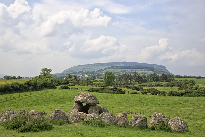 Carrowmore and Knocknarea - Ruins and Not So Ruined