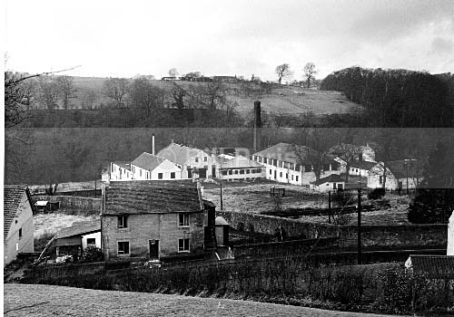 Millheugh Bleachfield in 1970 - Land and Sea