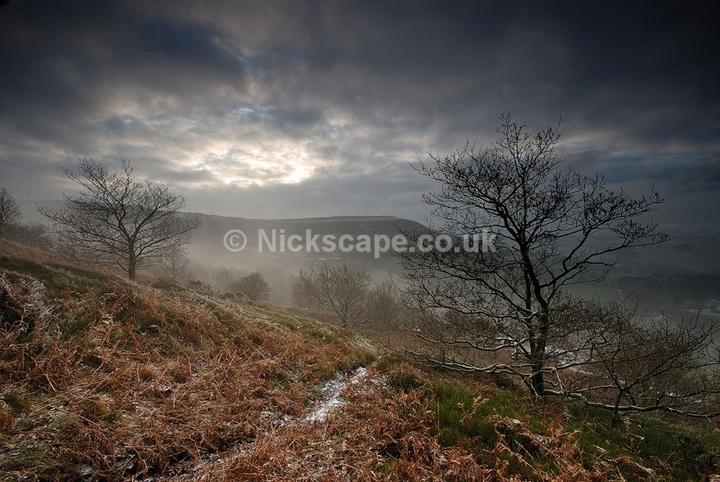 Winter dawn at Meal Mill | Jackson Bridge | Yorkshire Gallery