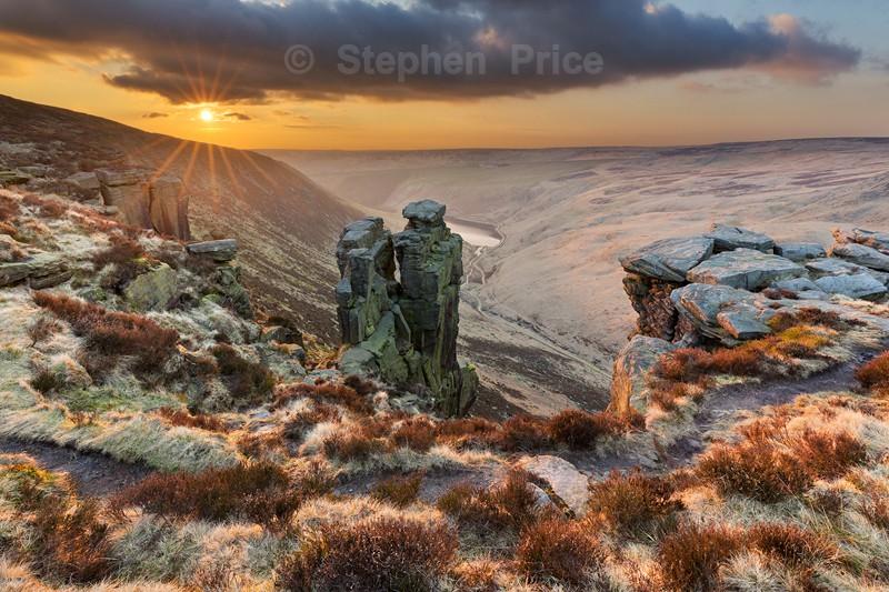 Trinnacle Peak District Photography | Peak District Sunset