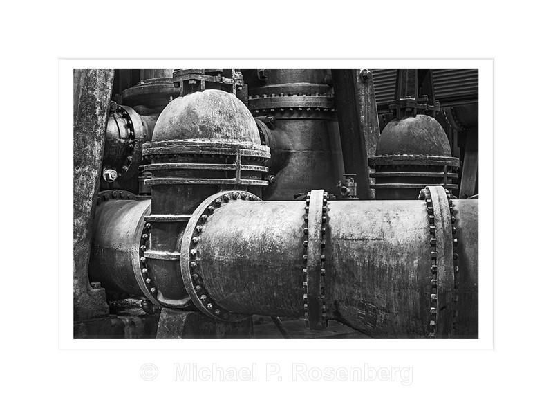 Valve and Pipe, Ward Water Plant Buffalo NY - Silo City and Ward Water Plant, Buffalo NY