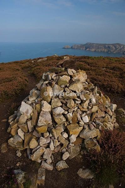 Coast Path Cairn - Coast