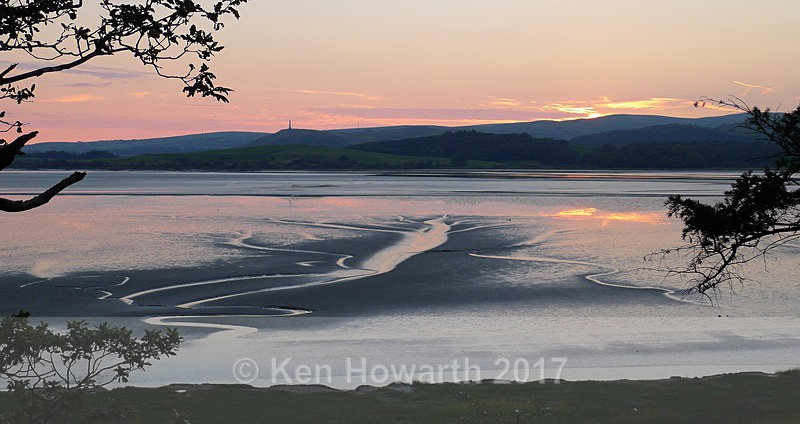 Midsummer sunset on the Leven Estuary - Lakeland Landscapes