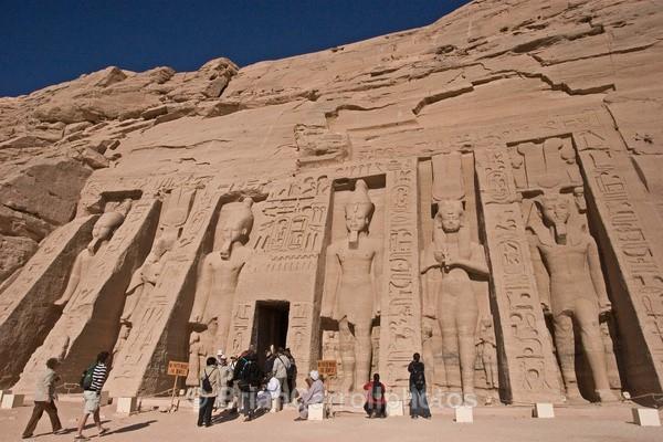 Nefretari Temple Abu Simbel,Egypt - Egypt Nile Tour 08