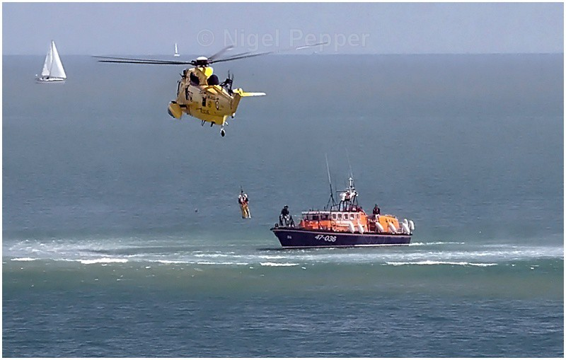 Practice Rescue - Lifeboats