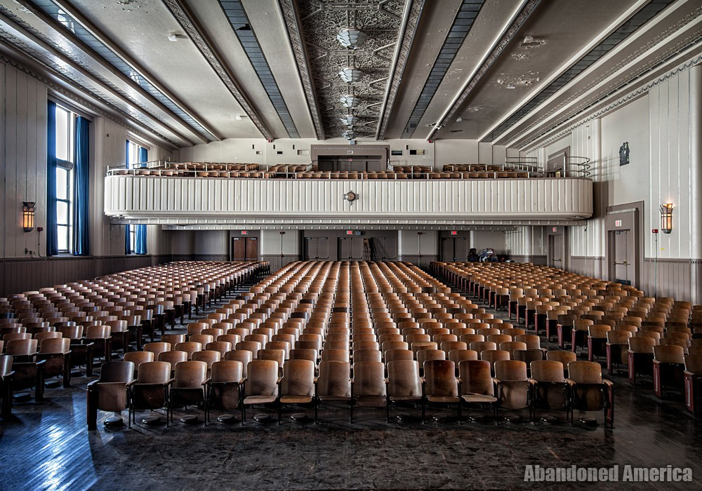 Bok Technical School (Philadelphia, PA) | Auditorium Rear - Edward M. Bok Technical School
