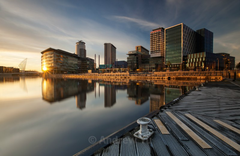 Frosty Morning at the Quays - Urban Landscape Photography