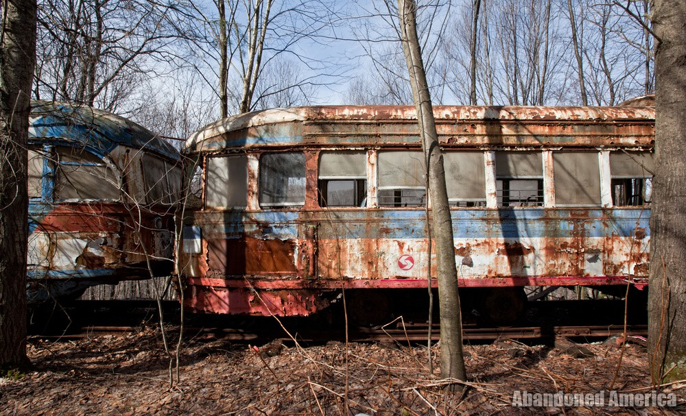 Trolley Graveyard | End of the Line - The Trolley Graveyard