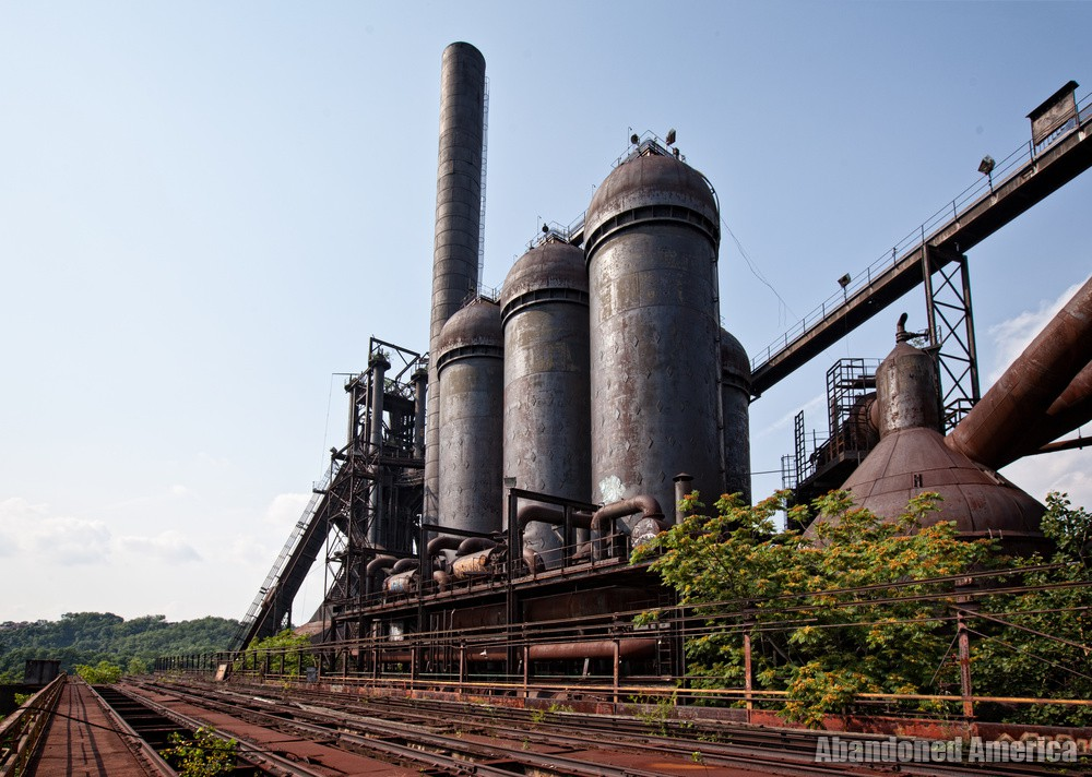 Carrie Furnaces (Rankin, PA) | Trestle Expanse - Carrie Furnaces
