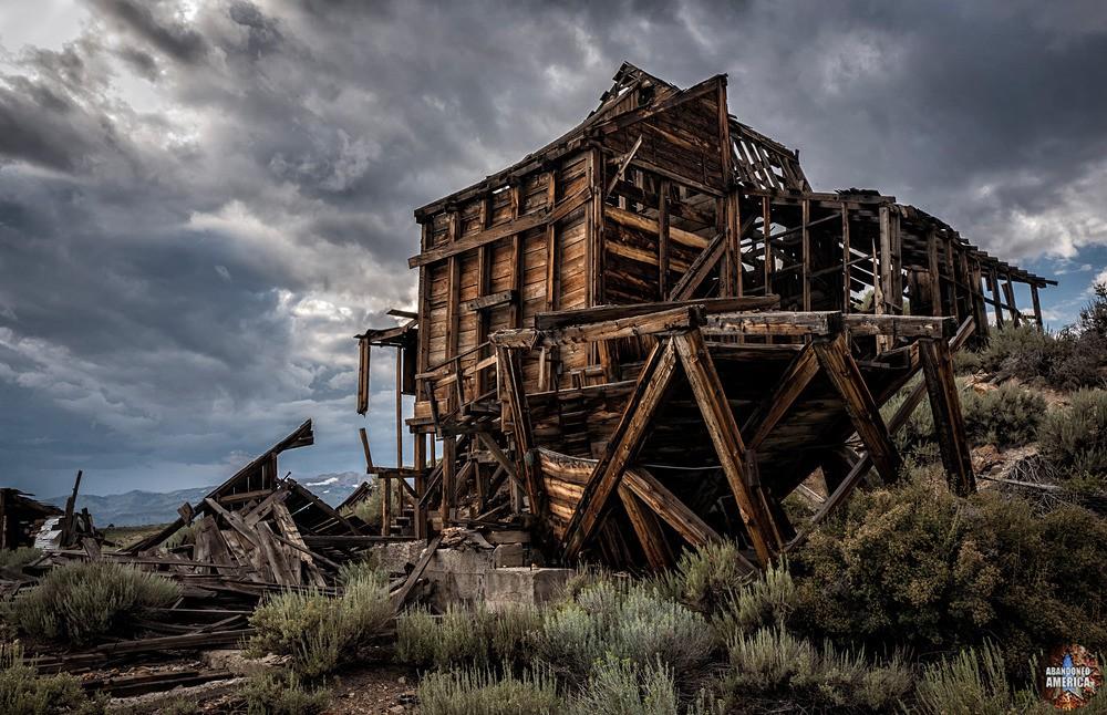 Chemung Mine (Masonic, CA) | Gray Skies - Chemung Mine