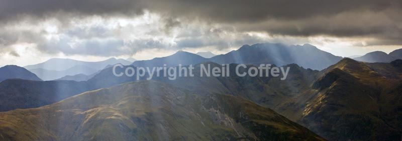 Bidean nam Bian, Glen Coe, Highland - Panoramic format