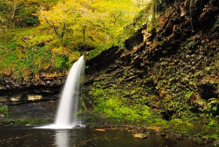Sgwd Gwladus   Lady Falls   Pontneddfechan Wales
