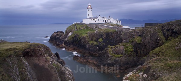 Dusk At Fanad Head Lighthouse, Co. Donegal, Ireland.