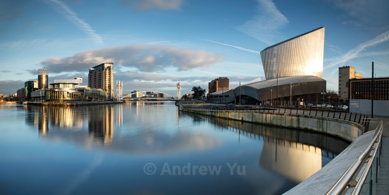 The Wide view of the Quays - Urban Landscape Photography