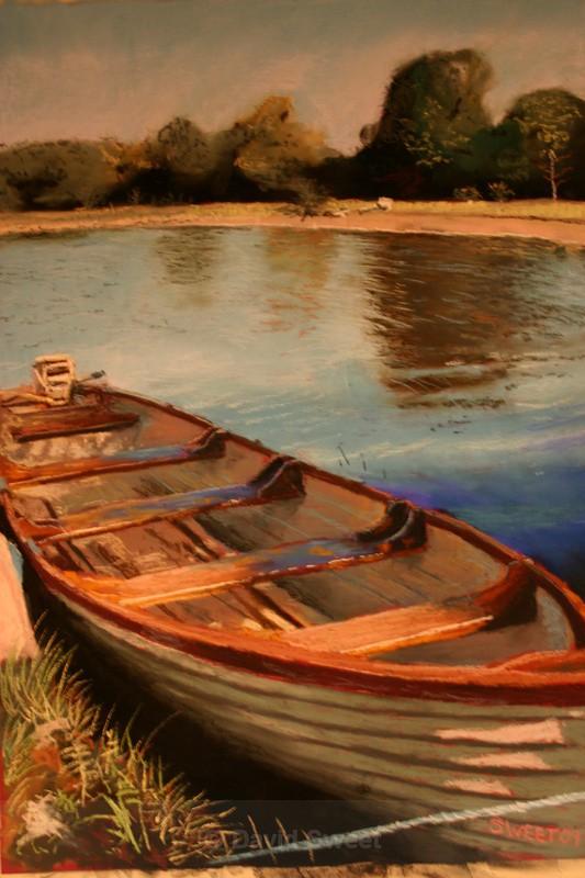 Boat Lovely Leitrim - Paintings