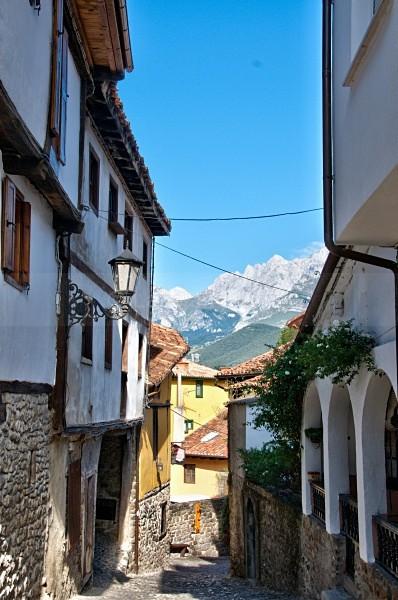 Potes Street - Picos de Europa, Spain