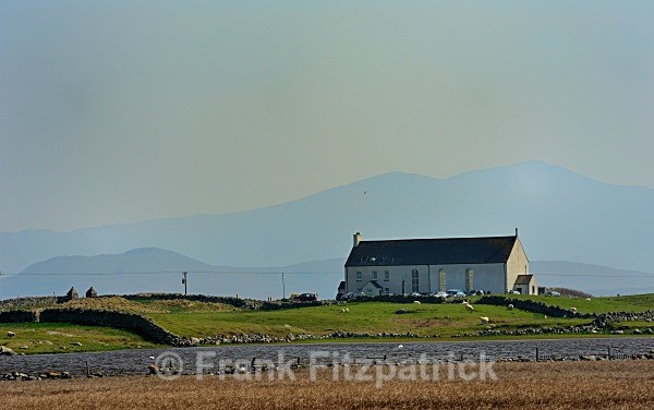 St Michael's Church, Ardkenneth, South Uist, Outer Hebrides. - Island of South Uist in the Outer Hebrides