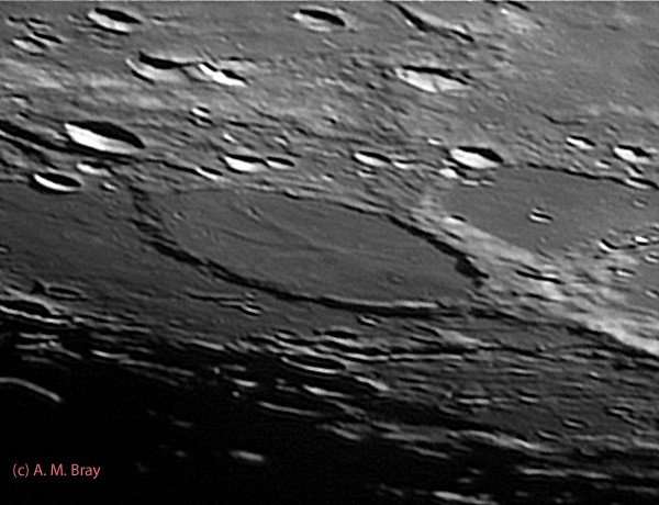 Wargentin - Moon: South West Region