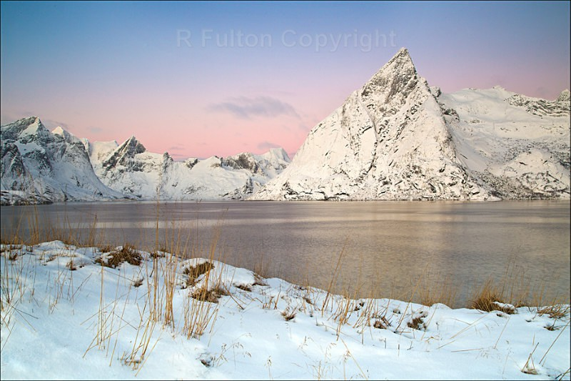Winter Dawn - Lofoten Islands - Norway